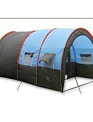 Zelt Einzeln Familien Zelte Drei Zimmer Camping Zelt Polyester Wasserdicht-Wandern Camping Reisen Draußen
