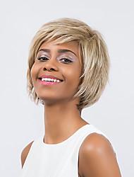 bezaubernden reif natürlich vorherrschenden Mischfarbe kurze Haare synthetische Perücke
