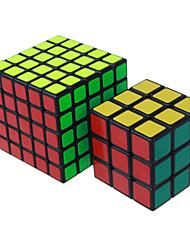 Shengshou® Спидкуб 3*3*3 5*5*5 Скорость профессиональный уровень Кубики-головоломки черный увядает Кот Гладкая наклейкиАнти-поп