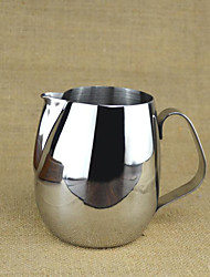 # Batedor de leite em aço inox, máquina de latte art reutilizável