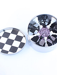 Manicure nail tool bracket chessboard nail bracket with 10 black and white crystal base bracket