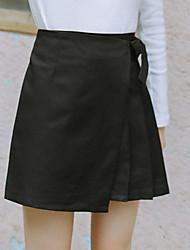 unterzeichnen neue Frühling halbe Länge Haltegurt kurzer Rock unregelmäßige Röcke