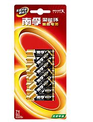pile alcaline Nanfu aaa 1.5v paquet de 12
