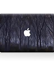For MacBook Air 11 13/Pro13 15/Pro with Retina13 15/MacBook12 The Dark Wood Decorative Skin Sticker