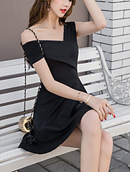 Sign spot new fall temperament Slim lady long section of elastic waist was thin jumpsuit