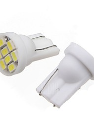 2pcs luces laterales del coche de color blanco
