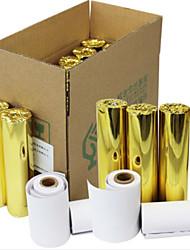 57 * 30mm machine pos portatif de papier d'impression petit billet thermique 36 volumes / boîte