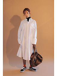 Korea purchasing official website purchasing genuine plus stylenanda sleeved shirt dress lotus leaf swing