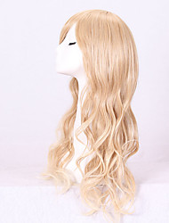 Synthetic Wigs Long Blonde Wave Heat Resistant Wigs For Women