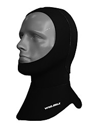 Diving Hoods Adult NO TOOLS Required Diving / Snorkeling Black PVC