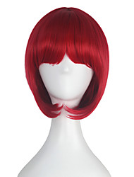 Synthetic Short Straight BOB Wigs for Women Girl Multi-colors Cosplay Party Wig Halloween