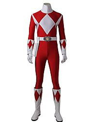 Cosplay Costumes Halloween Props Party Costume Masquerade Super Heroes Cosplay Movie Cosplay RedLeotard/Onesie Gloves Belt Boots More