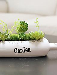 1 Ast Pflanzen Tisch-Blumen Künstliche Blumen