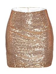 Womens Cheap Sequin Skirt - Lightinthebox.com