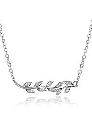 Ожерелье Цирконий Ожерелья с подвесками Ожерелья-цепочки БижутерияСвадьба Для вечеринок Особые случаи День рождения Обручение
