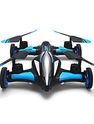 Drone JJRC 4CH 6 Eixos 2.4G Quadcópero com CR Iluminação De LED Retorno Com 1 Botão Modo Espelho Inteligente Vôo Invertido 360°