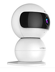 Lenovo Snowman 720P 1.0 MP Mini Indoor with Day Night Baby Monitor