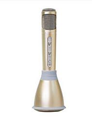 K068 Беспроводной Микрофон для караоке USB Черный Розовый
