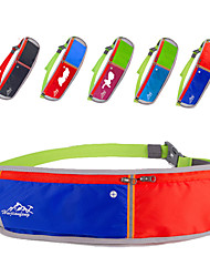 Sports Bag Belt Pouch/Belt Bag Running Bag All Phones Camping & Hiking Climbing Fitness Jogging Traveling Running Terylene