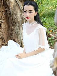 марочные искусства Zhang Xin юаней же пункт кружевное платье