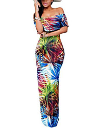Women's Beach Holiday Sexy Vintage Boho Loose Sheath Dress,Striped Strap Maxi Sleeveless Pink Polyester Summer High Rise Inelastic Thin
