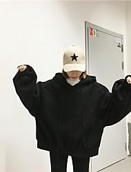 Sign 2016 new Korean loose hooded raglan sleeve lantern Fleece sweater