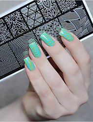 Born Pretty  Nail Art Stamp Stamping Template Image Plate Stencil Nails Tool