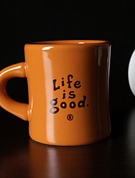Minimalism Drinkware, 320 ml Decoration Ceramic Coffee Juice Coffee Mug