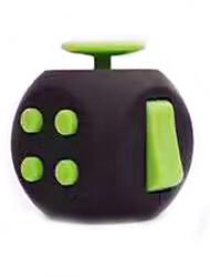 Игрушка Fidget Desk Fidget Cube Игрушки Квадратный EDC Сбрасывает СДВГ, СДВГ, Беспокойство, Аутизм Товары для офиса За время убийства