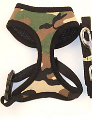 Dog Supplies Pet Harness Printed Canvas Dog Traction