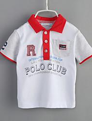 T-shirt Bambino Casual Geometrica-Cotone-Estate-