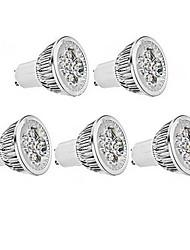 5W GU10 / E26/E27 LED Spotlight MR16 1 350-400 lm Warm White / Cool White AC 85-265 V 5 pcs