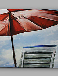 IARTS®Hand Painted Oil Painting Seaside Landscape of Holiday A With Stretched Frame