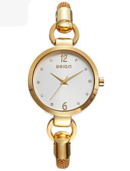 Fashion Watch Quartz Alloy Band Gold Rose Gold
