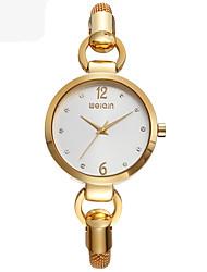 Relógio de Moda Quartzo Lega Banda Dourada Ouro Rose Dourado Ouro Rose