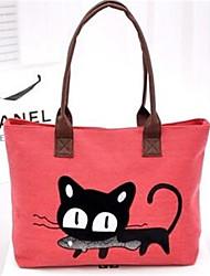 Unisex Canvas Outdoor Shoulder Bag