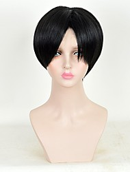 Cosplay Wigs Attack on Titan Levy Anime Cosplay Wigs 25 CM Heat Resistant Fiber Female
