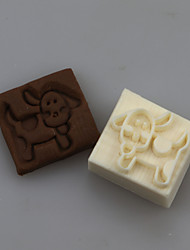 Puppy Shape DIY Handmade Soap Chapter Seals Tool Design
