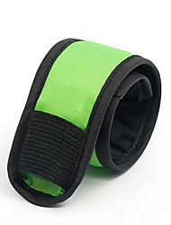 Safety Lights Reflective Wristbands Compact Size for Camping/Hiking/Caving Cycling/Bike Climbing Outdoor-Green White Red Yellow Pink