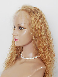 Kinky Curl Lace Front Synthetic Wigs Malaysian Synthetic  Hair For Women