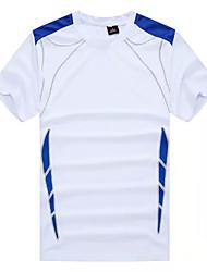 Men's Soccer Comfortable Spring Summer Fall/Autumn Winter Patchwork Football/Soccer White Green Black Dark Blue Orange