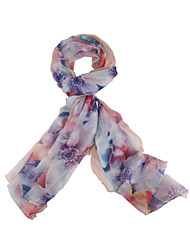 Silk ScarfVintage / Casual RectanglePrint 200cm*145cm