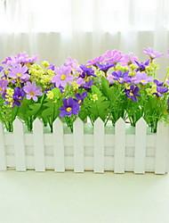 1 Ast Kunststoff Künstliche Blumen 30