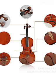 Electric Violin Gloss String Musical Instrument Case Art violin