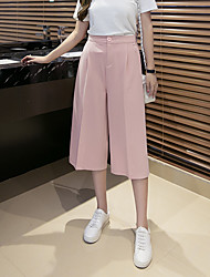 Sign summer wide leg pants high waist wide leg pants pant casual pants pants black pants Bigfoot