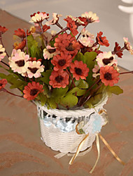 High Quality Artificial Flower  basket for  Home Decor(1pc)