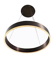 30 Lampe suspendue ,  Contemporain Peintures Fonctionnalité for LED Métal Salle de séjour Chambre à coucher Salle à manger Cuisine