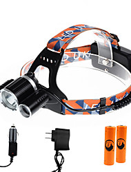 U'King® ZQ-X821C-US CREE XM-L T6/2*R5 Headlamp 5000LM LED 4 Mode for Camping Hiking Bike Outdoor Green light