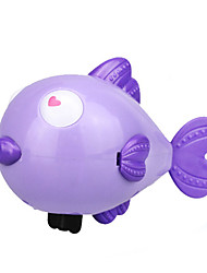 Water Toy Model & Building Toy Toys Novelty Fish Plastic Blue Pink Purple