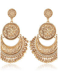 Non Stone Drop Earrings Jewelry Wedding Party Halloween Daily Casual Sports Alloy 1 pair Gold Silver